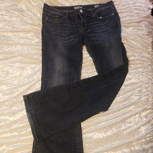 MEK Chicago bootcut jeans
